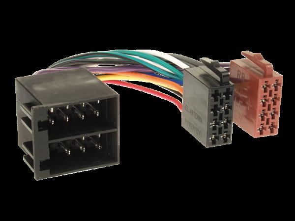 Radioanschlusskabel ISO Buchse > ISO Stecker Verlängerung