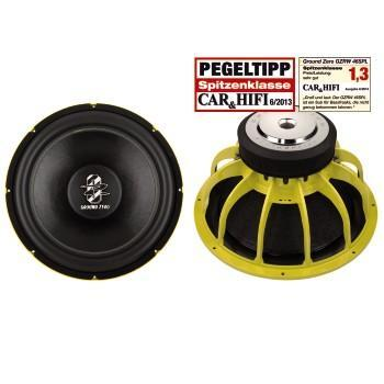 Ground Zero GZRW 46SPL - 46cm SPL Subwoofer