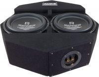 Audio System Subframe R10 Flat-2 - 2x25 cm Reserveradsubwoofer