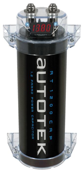 autotek capacitor 1 2 farad at1200 autotek branded. Black Bedroom Furniture Sets. Home Design Ideas
