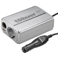AMPIRE Spannungswandler DC/AC von 12 Volt DC auf 230 Volt AC
