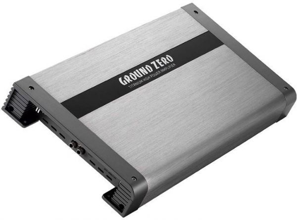 Ground Zero Titanium GZTA 1.800DXII-24V - 1-Kanal Verstärker 24V