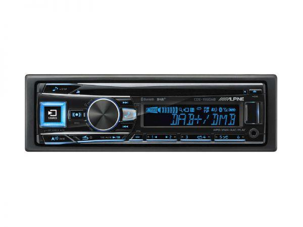 Alpine CDE-196DAB - 1DIN Autoradio