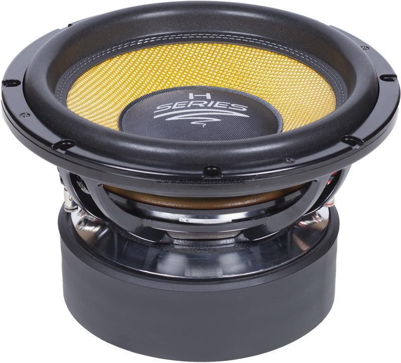 Audio System H12 Spl All Subwoofers Subwoofers Hifi Navigation Carfeature De Car Hifi Shop