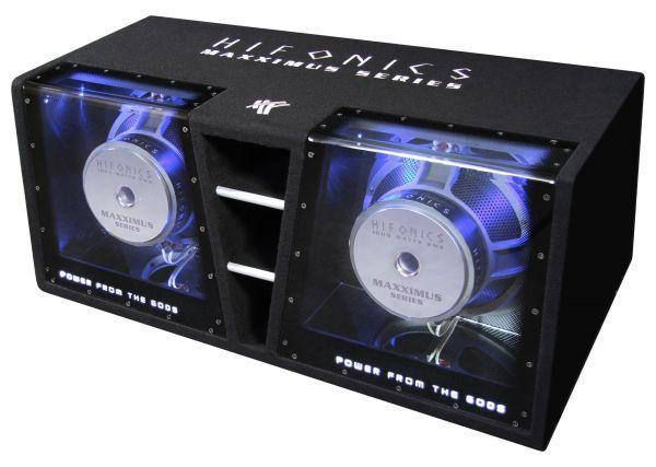 Hifonics MXZ12DUAL - 30 cm Dual-Subbox