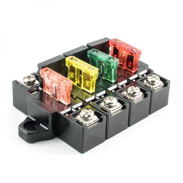 Ampire XSB100-5 - Sicherungs-/Stromverteiler-System (5er Pack)