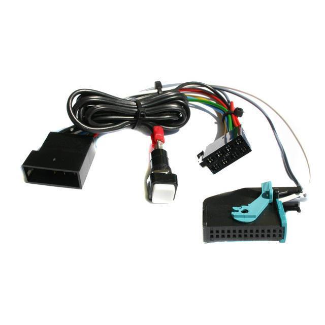 Caraudio Systems NachrĂĽst Kabelsatz fĂĽr MFD1 oder Navi-Plus Navigationsystem zum Einbau in ein an