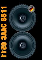 German Maestro AC 6511 - 2-Wege Coaxialsystem