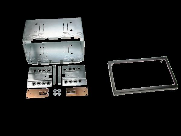 2-DIN facia plate Universal (113 mm) | Audi | Car Specific