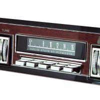 """RetroSound SCP36 - bedruckte Displayschutzfolie, Plymouth 3er Set für """"Redondo"""""""