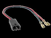Lautsprecheradapterkabel 2 polig Fiat / Peugeot / Lancia (2 x)
