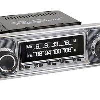 RetroSound SCP05 - bedruckte Displayschutzfolie, MW/FM, 3er Set