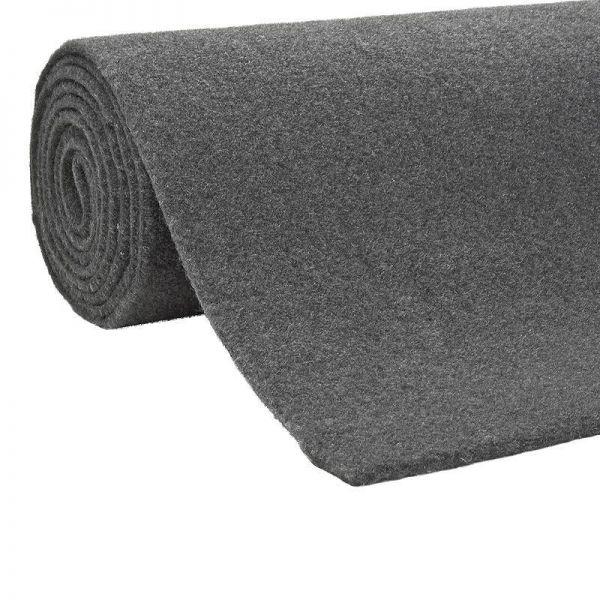 Moquette dunkel grau ca 70x150cm