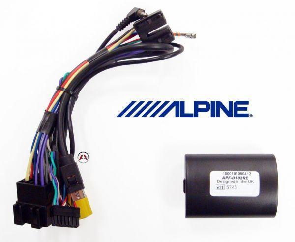 Alpine APF-D102RE