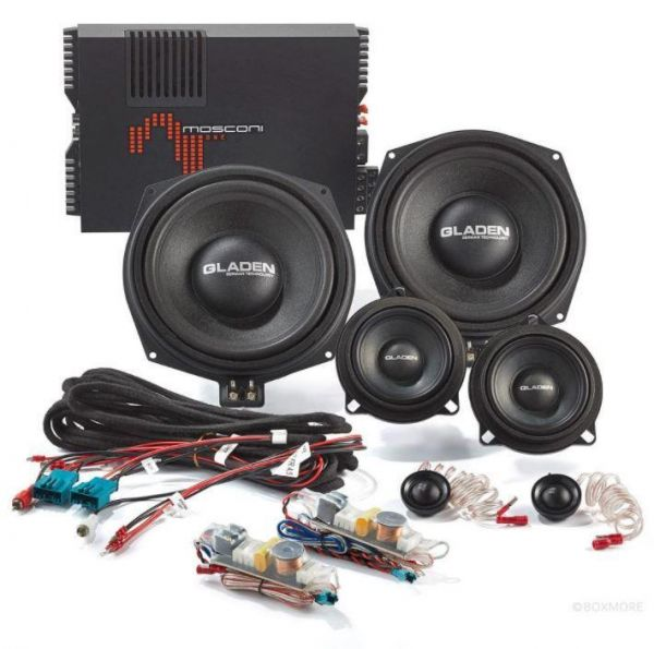Gladen Boxmore BMW GT - BMW-Sound-System