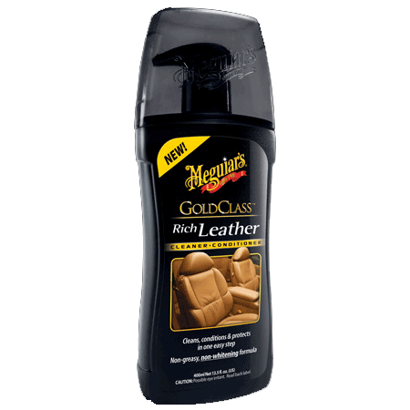 Meguiar´s Gold Class Rich Leather Cleaner & Conditioner