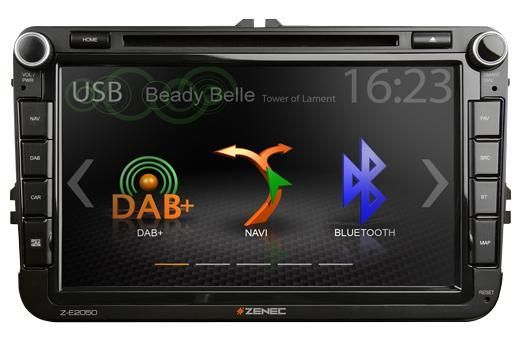 Zenec E2050 - 2DIN Infotainer