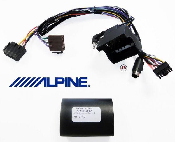Alpine APF-D102OP - Lenkradinterface