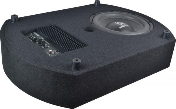 Ground Zero GZCS 10SUB-ACT - 25cm aktiver Reserverad-Subwoofer