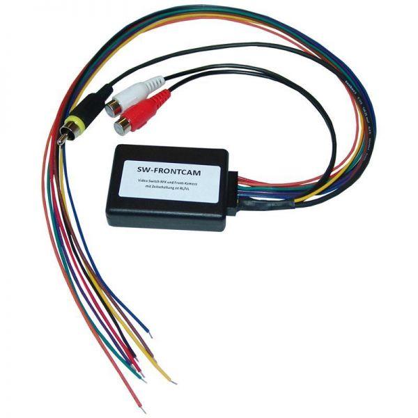 NavLinkz SW-FRONTCAM - Video Switch RFK und Front-Kamera mit Zeitschaltung an RL/VL