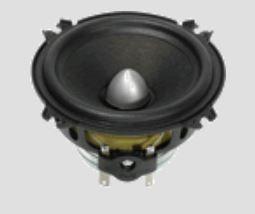 Gladen ZERO LINE GA-80-ZPDC-3 - 8cm Dust Cap Mitteltöner