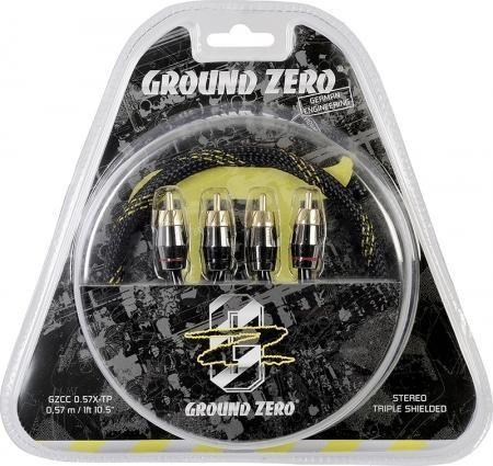 Ground Zero GZCC 3.14X-TP - Pi-Sized Sound Quality Cinch Kabel 3,14m