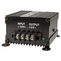 Spannungswandler / Inverter 24V auf 12 Volt, 10A/15A