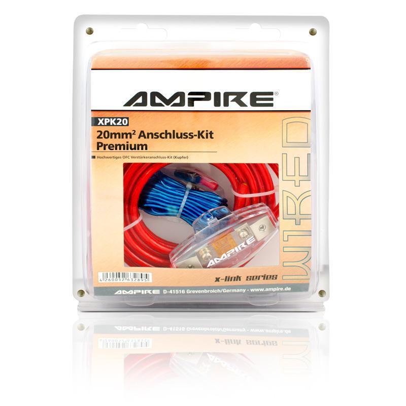 AMPIRE Power-Kit 20mm² Kupfer   Sets   Kabel   Zubehör   Hifi ...