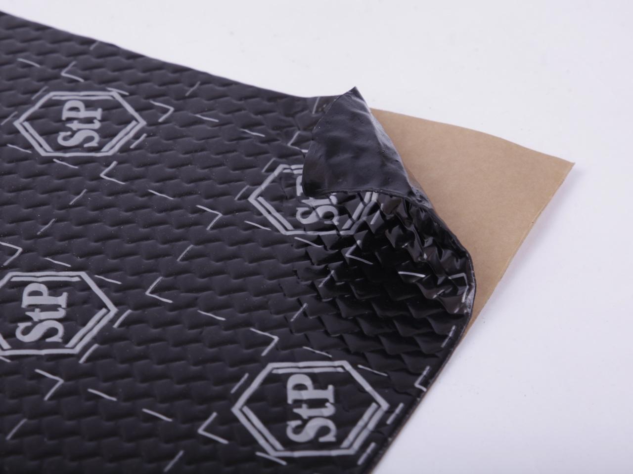 StP Black Silver Speaker Pack - 2 pieces insulation mats | Damping Material | Accessories | Hifi & Navigation | carfeature.de - Car Hifi Shop