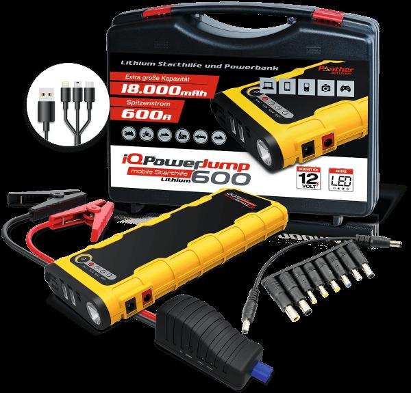 Panther iQ Power Jump 600 - Starthilfe