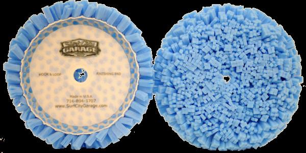 Surf City Garage Polierpad 175mm blau, fein