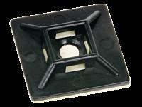 Montagesockel für Kabelbinder