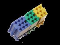 Montageset Mini-ISO Stecker