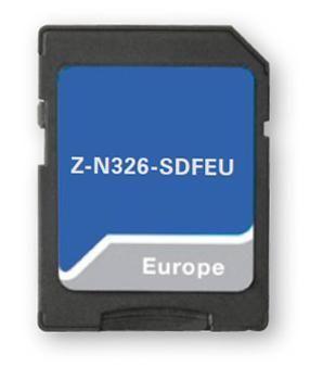 Sd Karte.Zenec N326 Sdfeu Sd Karte 47 Eu Countries