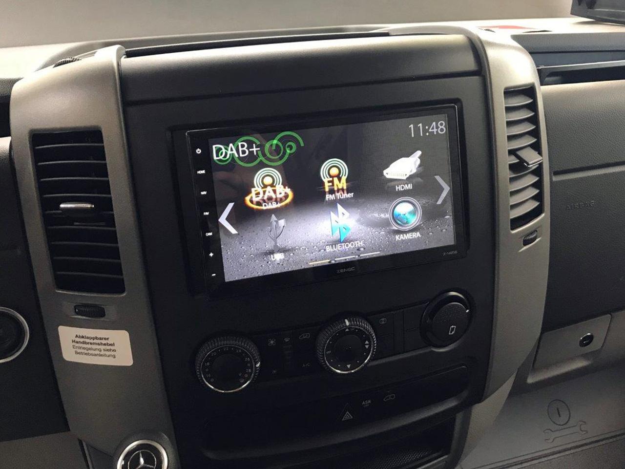 Zenec Premium Headunit for Mercedes-Benz Sprinter W906