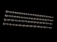 Kabelbinder schwarz 200 x 4,8 mm