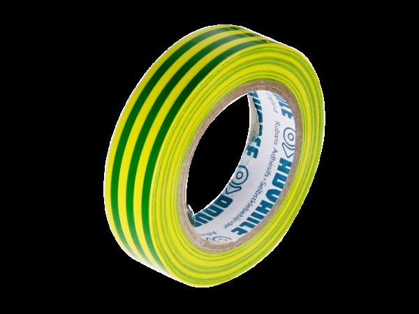 PVC-Isolierband grün/gelb