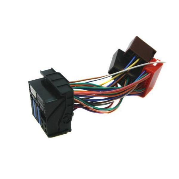 Wondrous Retrofit Wiring Harness For Audi Iso Quadlock Connection Audi Wiring 101 Bdelwellnesstrialsorg