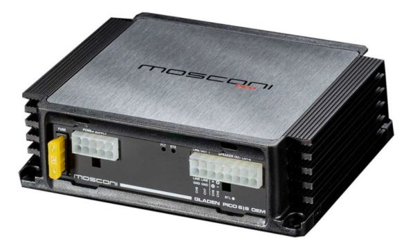 Mosconi Pico 6-8 DSP - 6-Kanal Verstärker