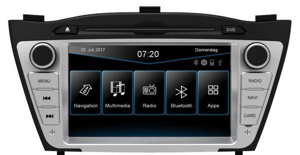 ESX VN720-HY-iX35 - Naviceiver for the Hyundai iX35