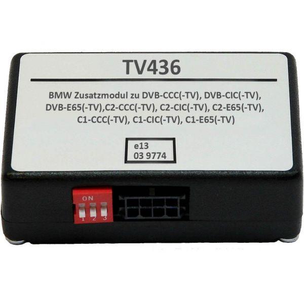 Zusatzbox auf CAN Bus Basis (Low Speed) für div. BMW Interfaces C1, C2, dvb&usbL