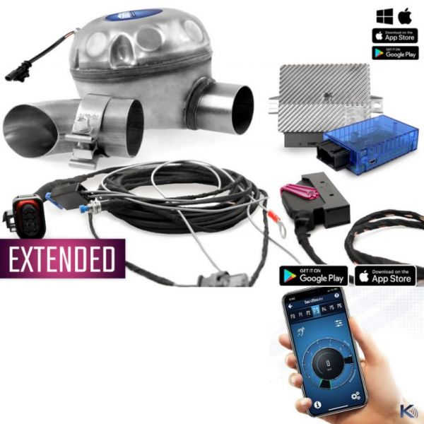 Kufatec 40613-1 - Universelles Komplettset active Sound incl. Soundbooster BMW E-Serie