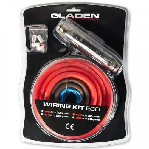 Kabel-Kit inkl. Cinchkabel 10 mm²