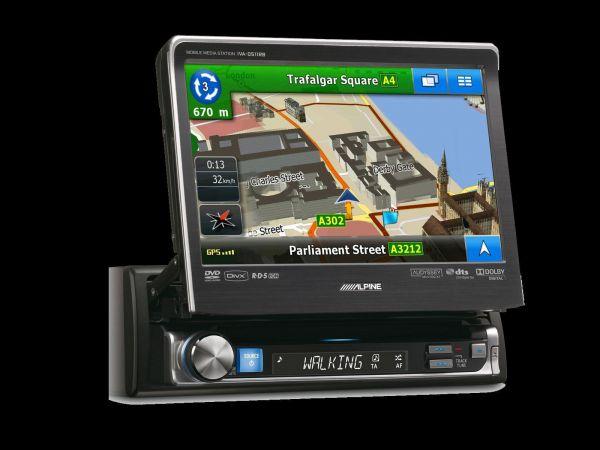 Alpine IVA-D511R - 1DIN Ausfahrbares Autoradio