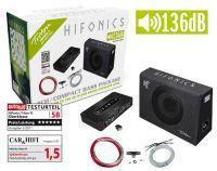 Hifonics TBP800.4 - 4 Kanal Bass Kit mit 136dB Leistung