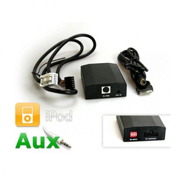 Kufatec IPOD interface (AUX) quadlock for Audi, VW, Seat, Skoda