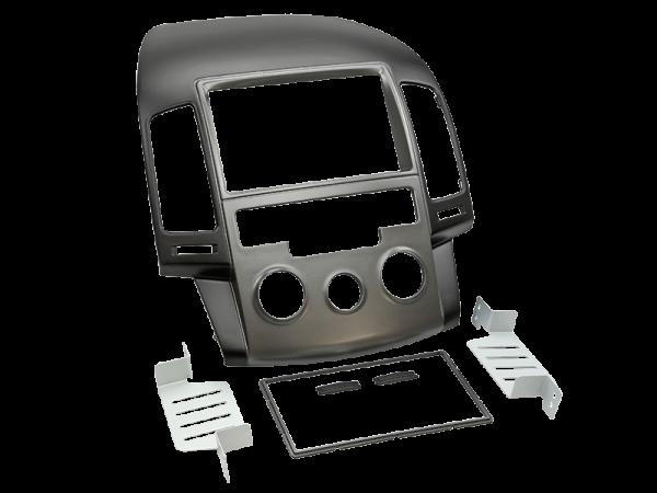 2 din radioblende hyundai i30 2008 manuelle klimaanlage. Black Bedroom Furniture Sets. Home Design Ideas