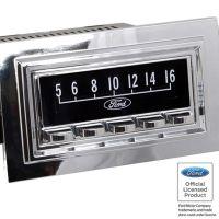 RetroSound SCP08 - bedruckte Displayschutzfolie, Ford 3er Set