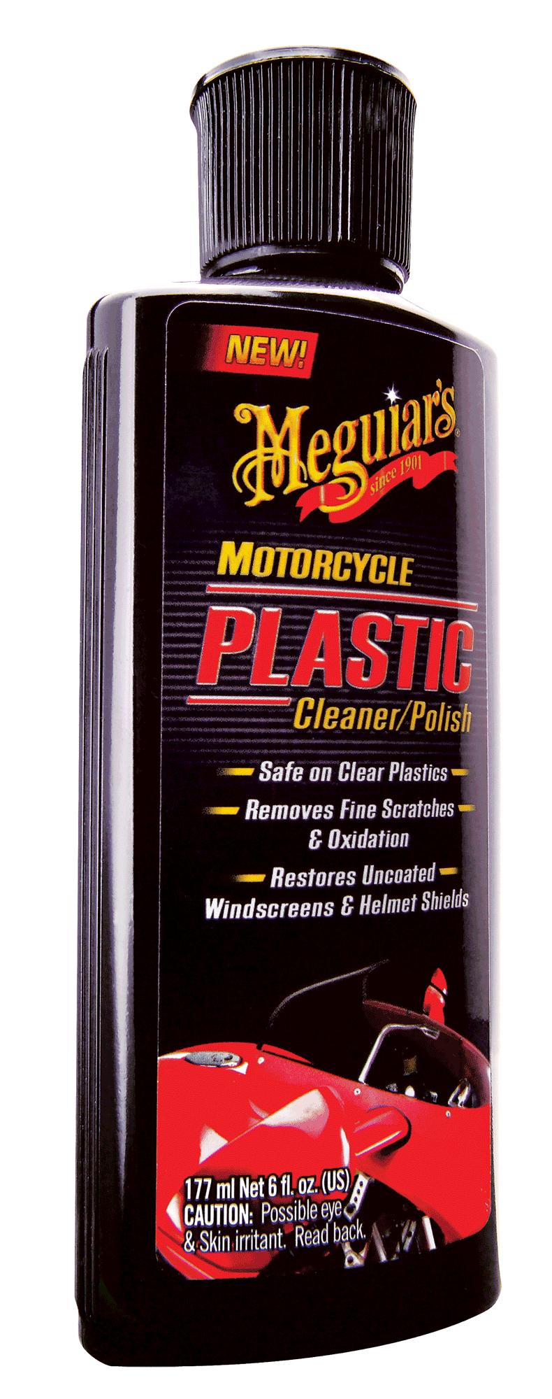 Meguiar´s Motorrad Plastic Cleaner & Polish