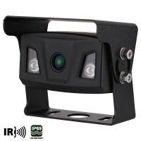 Ampire KIP200 - Ultra-Weitwinkel Farb-Rückfahrkamera, IP69K, Heckeinbau
